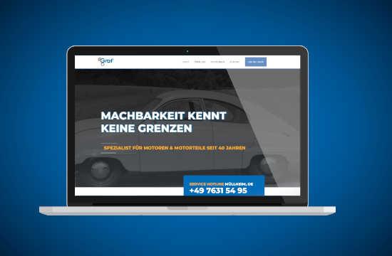 Graf Motoren Online Shop