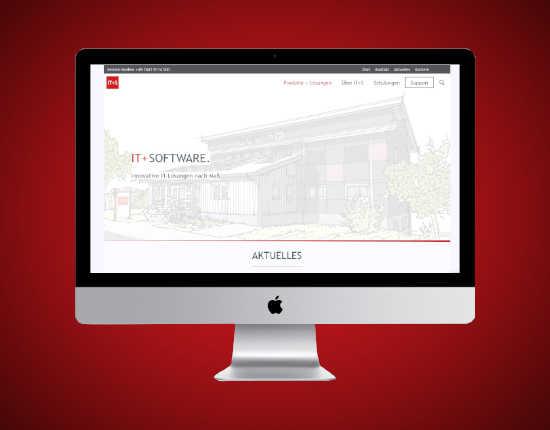 Webprojekt IT+S GmbH
