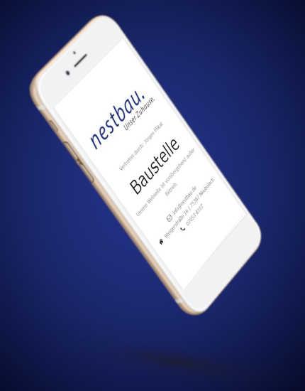 Landingpage nestbau GmbH