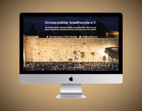 Website Israelfreun.de