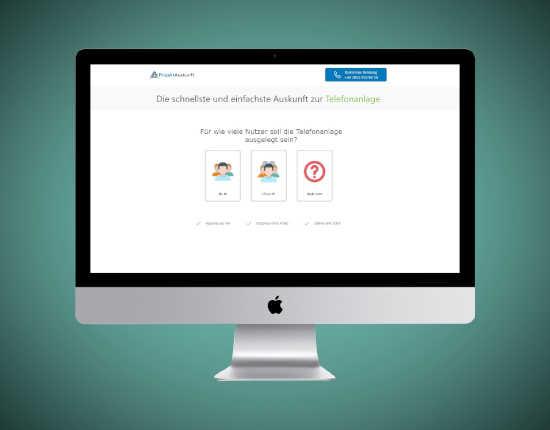 Projekt Leadgenerator Online Lead