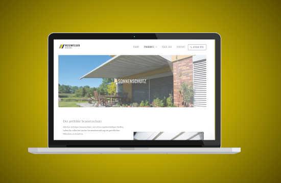 Website Rosenfelder GmbH